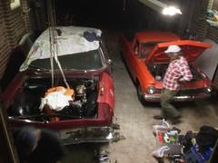 (john.and.kath) Tags: jrd eh ute repairs heater tap cooling system gm garage joe