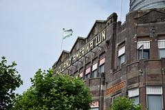 Palaces in Rotterdam (lucasual) Tags: netherlands rotterdam city wilhelminapier hotel newyork newyorkhotel sky clouds