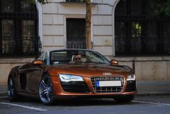 Audi R8 V10 Spyder (MarcoT1) Tags: audi r8 v10 spyder hungary budapest nikon d3000