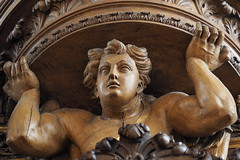 Schitger-orgel Grote Kerk, Zwolle (Gerrit Veldman) Tags: orgel organ houtsnijwerk ornament versiering zwolle overijssel olympus epl7 nederland netherlands