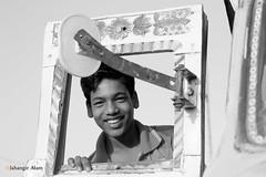 Booster Boy (jalam@machizo.com) Tags: truck helper worker pepole bangladesh travel color poetrate