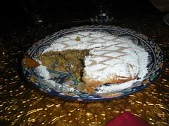 lamb and honey b'stilla from Menara Moroccan Restaurant - cut open (ixfd64) Tags: ixfd64 nikon coolpix menara