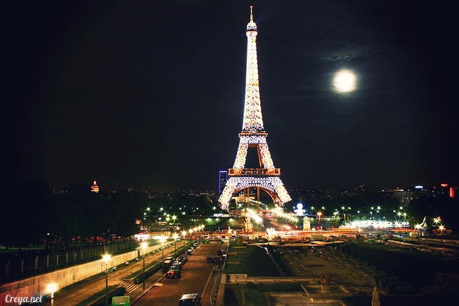 2016.10.09 ▐ 看我的歐行腿▐ 艾菲爾鐵塔,五個視角看法國巴黎市的這仙燈塔 14