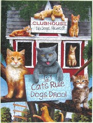 Cats Rule! (Tom Wood) (Leonisha) Tags: puzzle jigsawpuzzle cats katzen clubhouse