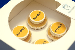 RUOK Cupcakes (Cake O'Clock) Tags: cakeoclock cupcake cupcakes ruok ruokday day toppers edible print printing boxed box community event