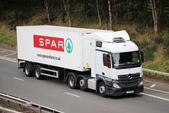 MB Actros - SPAR Supermarket (scotrailm 63A) Tags: lorries trucks supermarket spar