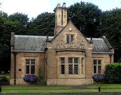 [44898] Rufford Abbey : Western Lodge (Budby) Tags: rufford nottinghamshire abbey house lodge gatehouse victorian