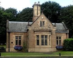 [44898] Rufford Abbey : Western Lodge (Budby) Tags: rufford nottinghamshire abbey house lodge gatehouse victorian