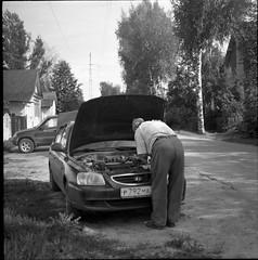 lpentacon018 (mike.chernov) Tags: pentacon six medium format square 6x6 color film people blackandwhitephotograph black white