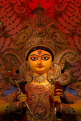 Durga Puja....... When Kolkata Transforms into An Art Gallery (pallab seth) Tags:  beautifulplaces westbengal grambanglarchobi best digitalart calcutta sculpture worship hinduism traditional religion religious pandal city cityatnight artistic idol streetart artisans durga puja 2016 kalighat kolkata festival bengal india bengalartisans clay durgaidol tradition durgapuja art culture beautiful highresolution image goddess durga kolkata light decoration deity   samsungnx85mmf14edssalens samsungnx1 kashiboselane