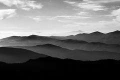 never ending view (Mich Alias) Tags: sony a6000 digital 50mm lens 14 smc takumar m42 olympus mountain