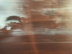 7/16 (nikaylasnyder) Tags: motion blur long exposure swirl landscape trees homes houses mcdonalds blue skies fall autumn filter