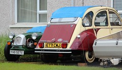FHO 527S & E771 CMJ (Nivek.Old.Gold) Tags: 1988 citroen 2cv6 special dolly 602cc lomax 1977 ami 8 confort