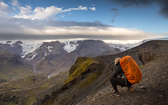 Fimmvrduhls (JoshyWindsor) Tags: fimmvrduhls iceland clouds canonef24105mmf4l michellewindsor glaciers travel nature hiking tramping outdoors backpack canoneos6d europe holiday valley fimmvrduhls