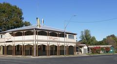 The Wobbly Boot Hotel at Boggabilla. (The Pocket Rocket) Tags: wobblyboothotel boggabilla nsw australia pubs hotel verandah