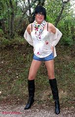 DSC_0436 Version botte. With boots ! (myryamdefrance) Tags: transgenre travesti transvestite transgender tgirl tranny tg tv trans talonshauts tgirlsmile boots bottes pantyhose sexytgirl sexycrossdresser myryam seyycrossdresser sexy cuissardes cuir outdoor hotcrossdresser hottranny hottgirl hot prostitute hooker crossdresser cd collant shemale frenchcrossdresser frenchtgirl french tgirlbootsbottescuissardes jean shortjean sexyoutfit sexytranny sexycrossdresserhot