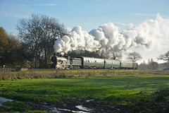 30120 (DaveStubbings) Tags: 30120 t9 lswr 440 southernrailway steamengine steamlocomotive steam steamtrain steamrailway preservation preserved preservedrailway heritage heritagerailway timelineevents dorset swanagerailway swanage corfe corfecommon harmanscross