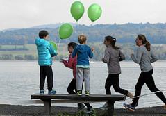 Hallwilerseelauf: Topplaetze fuer die Kleinsten beim 10-Km-Lauf