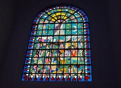 Kreuzeskirche (wpt1967) Tags: canon50mm christus eos6d essen glasfenster jamesrizzi kirche kirchenfenster kirke kreuzeskirche ruhrgebiet ruhrpott church stainedglass wpt1967