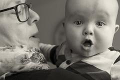 Aaron and his grandma (wwwuppertal) Tags: aaron baby kleinkind sixmonthsold sechsmonatealt grandma grandmother grosmutter oma glck happiness familie family verwandtschaft relatedness relationship sw schwarzweis bw blackandwhite blancetnoir noiretblanc monochrome monochrom fujifilmxpro1 fujinonxf35mmf2rwr fujifilmxsystem schatz cutie dear beloved