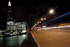 Twinkle Twinkle  (venesha83) Tags: londonbridge london longexposure longexpo twinkle lights lighttrails theshard traffic landmark uk