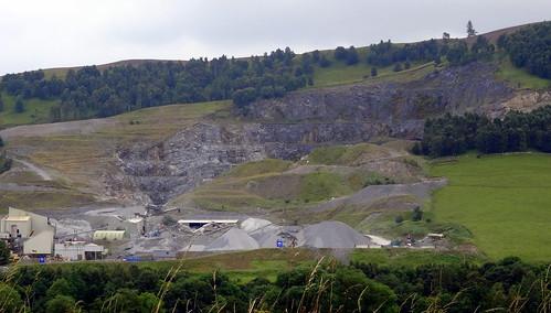 A Quarry off B8079, Scotland