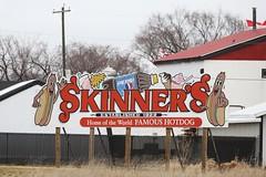 Skinner's World Famous Hotdog (The Mick Loyd Project) Tags: april172016yellowrumpedlockowlnest skinners locport manitoba hotdogs burgers