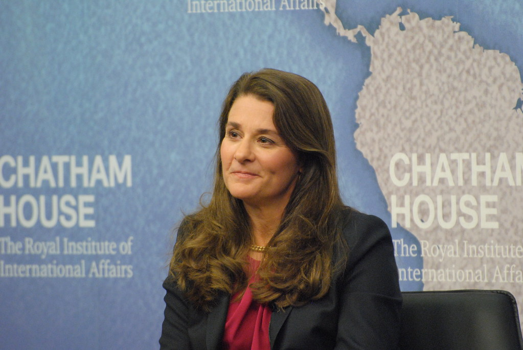 Melinda Gates, Co-founder, Bill and Meli by Chatham House, London, on Flickr