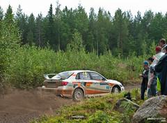 Subaru Impreza WRX STI R4 (Pedro Valiente) Tags: finland rally racing wrc subaru impreza wrx sti gravel motorsport finlandia tierra competicin