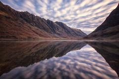 Aonach Eagach & Loch Achtriochtan by J McSporran, on Flickr