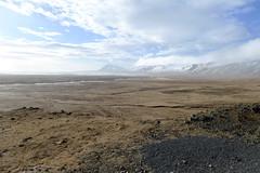 road trip, iceland (valeriadalua) Tags: winter sea wild sky snow mountains cold west ice landscape coast iceland wind remote plain