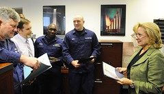Civilian employees offer passion, perspective to Coast Guard (Coast Guard News) Tags: coastguard virginia us unitedstates portsmouth d5 finance midatlantic thorogood 5thdistrict fifthdistrict gs14 civilianemployee teddiethorogood managementandprogramanalyst