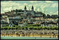 (Dorron) Tags: beach nikon san sebastian country playa basque urko vasco euskadi donostia pais guipuzcoa gipuzkoa euskal herria ondarreta hondartza sagasti dorronsoro dorron d3s