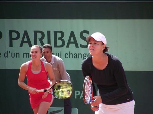Lindsay Davenport - Roland Garros 2012 - Martina Hingis & Lindsay Davenport