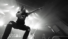 Tonight Alive (Brian Krijgsman) Tags: blackandwhite bw music film amsterdam photography concert nikon punk photos live grain australian band australia pop zwart wit genre melkweg 2014 supportact themax iso25600 d4s oneokrock briankrijgsman tonightalive jennamcdougall