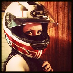b437 (no_penetrate) Tags: girl helmet moto balaclava