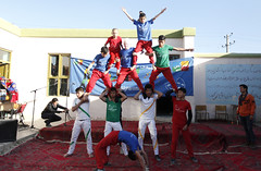Circus performance on Elimination of Family Violence in Shakardara district of Kabul province (UN Assistance Mission in Afghanistan) Tags: family afghanistan circus district performance un violence province kabul unama elimination shakardara