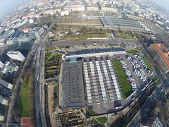 Wrocław Dworzec PKS (Maciek Lulko) Tags: city urban poland polska aerial fromabove wroclaw drone wrocław dron aerialphotos cityfromabove gopro cityfromair