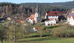 (Gerlinde Hofmann) Tags: church germany village thuringia greenhouse gewächshaus conifer bürden