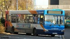 Stagecoach (35221) Alexander Dennis Dart SLF - KX56 JZC (J.J.Pay 8581) Tags: uk bus leicester dennis midlands x17 kx56jzc