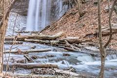 Decew Falls - Dec 30, 14 (mitchell.sager) Tags: ontario ice nature explore waterfalls decew explorecanada exploreontario decewfallsmorningstarmill