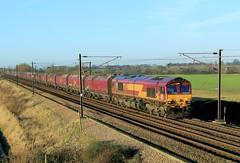 66112 @ Burn (TheRosyMole) Tags: railroad yorkshire railway burn dbs 66112