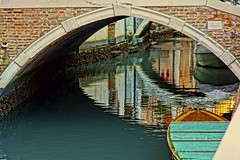venetian painting (Kristoffersonschach) Tags: venice italy reflection venedig canale