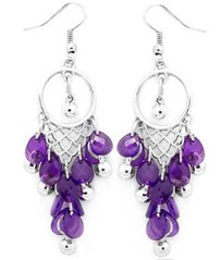 Glimpse of Malibu Purple Earrings P5410-3
