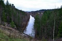 Kimola channel, view southeast of Vierumäentie, Jaala, 2011113 (RainoL) Tags: november eh forest finland geotagged fin channel kouvola 2011 jaala kymenlaakso kimola 201111 20111113 geo:lat=6106954000 geo:lon=2627369600