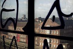 Window of opportunity (davidpiano92) Tags: abandoned graffiti hull derelict urbex rankhovis clarenceflourmill