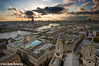 (Claire Hutton) Tags: city uk sunset england sun colour london clouds buildings lens prime view vista burst stpaulscathedral riverthames goldengallery samyang12mmf20 sonynexr