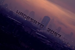 WADESATO 2057 (LACZI) Tags: city morning sunset fashion sunrise project dark evening design cityscape darkness concept typo teaser tilted matte cyberpunk mattepainting 2057 wadesato lifegoth