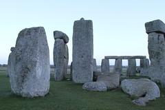 Look east (roger_forster) Tags: stone grey january east stonehenge heel wiltshire joint salisburyplain sarson englishheritage mortise trilithon