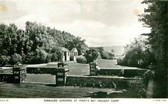 St Mary's Bay Holiday Camp, Brixham (trainsandstuff) Tags: vintage postcard retro archival pontins brixham holidaycamp stmarysbay rivierabay homelea